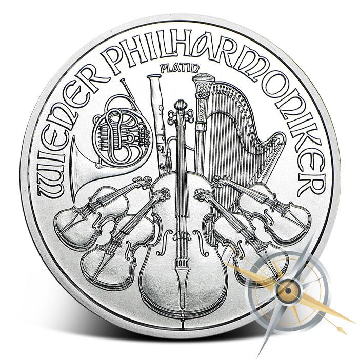 2016 1 oz Austrian Platinum Philharmonic