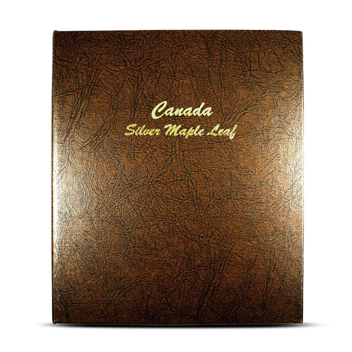 Dansco Canada Silver Maple Coin Album | 1988-2013
