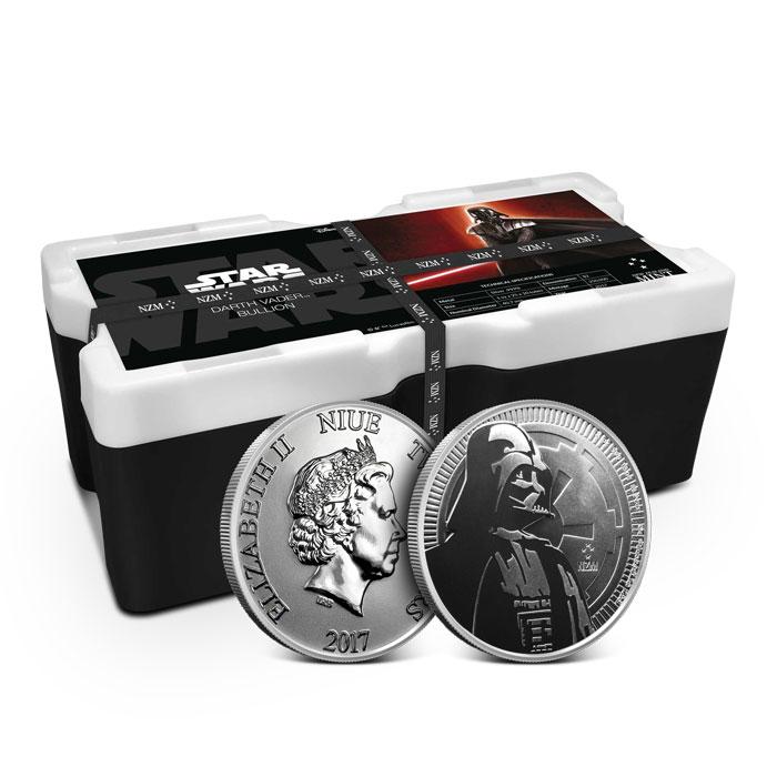 Darth Vader 1 oz Silver Round | Monster Box