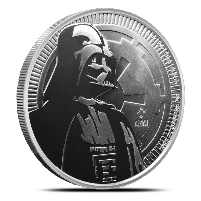 Darth Vader Silver Round