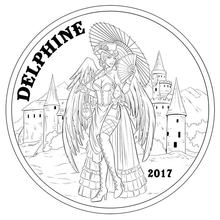 Delphine Angel Concept Sketch