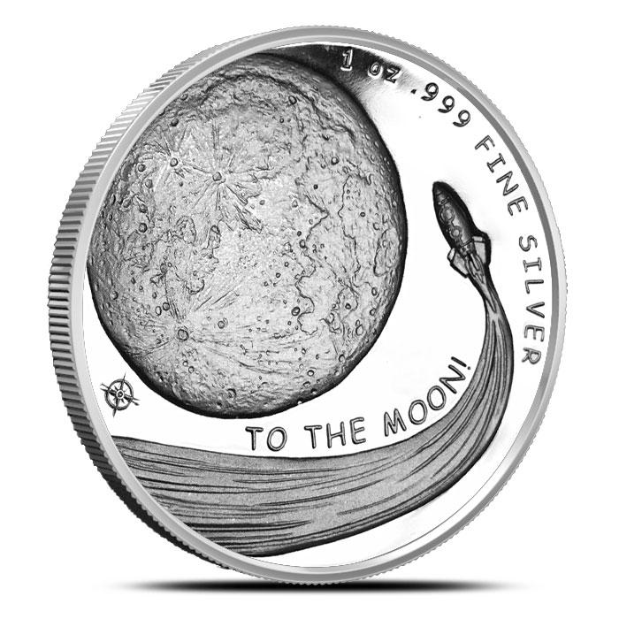 1 ounce Silver Dogecoin