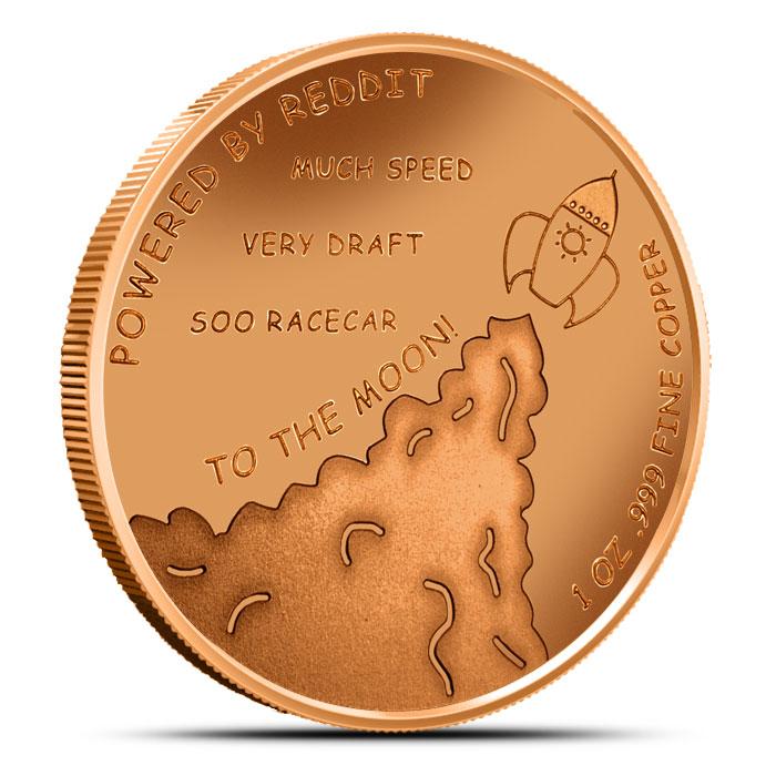 Dogecar Sponsorship Coin reverse