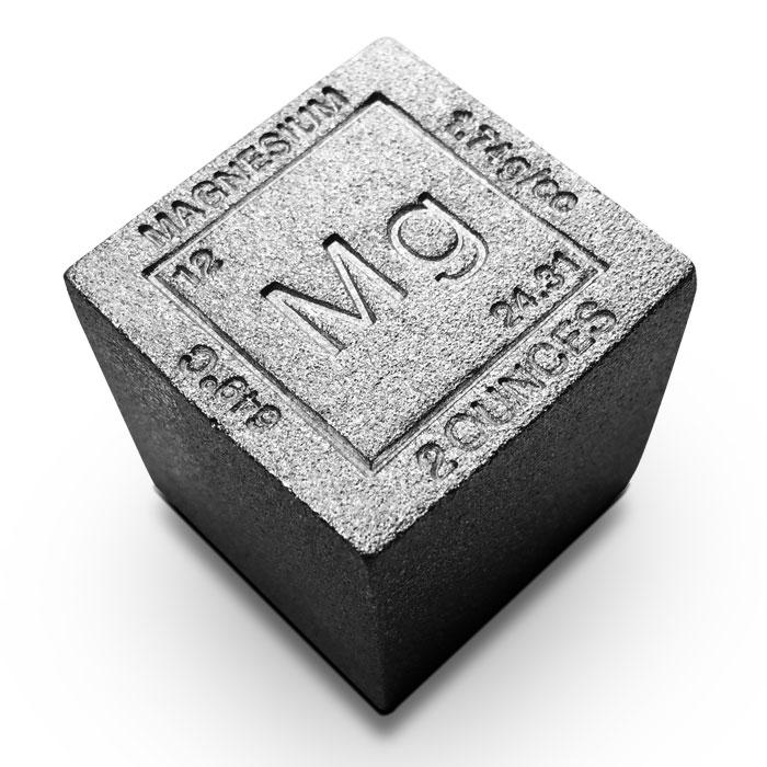 Elemental 2 oz Magnesium Cube