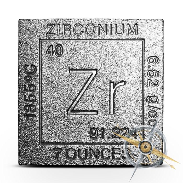 Elemental seven ounce Zirconium Cube