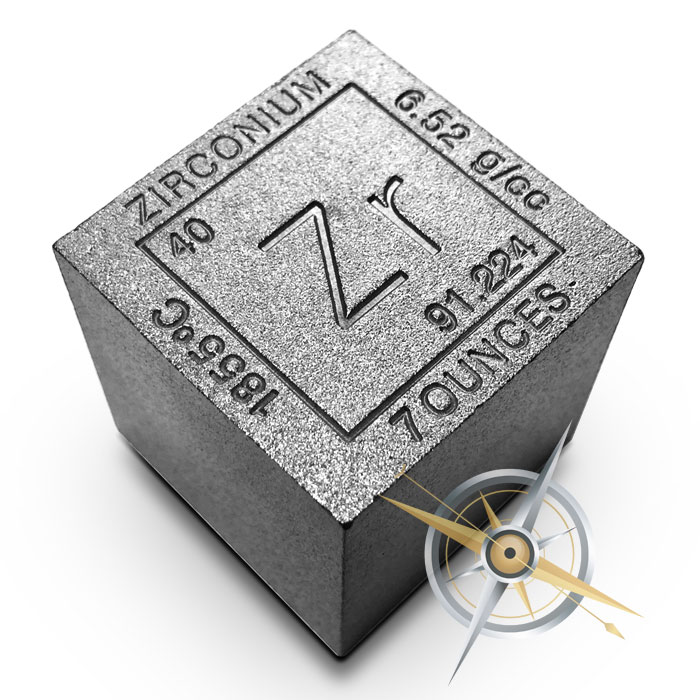 Elemental 7 oz Zirconium Cube