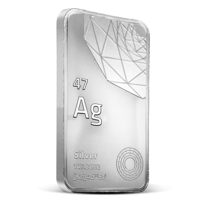 5 oz Silver Bar | Elemetal Mint