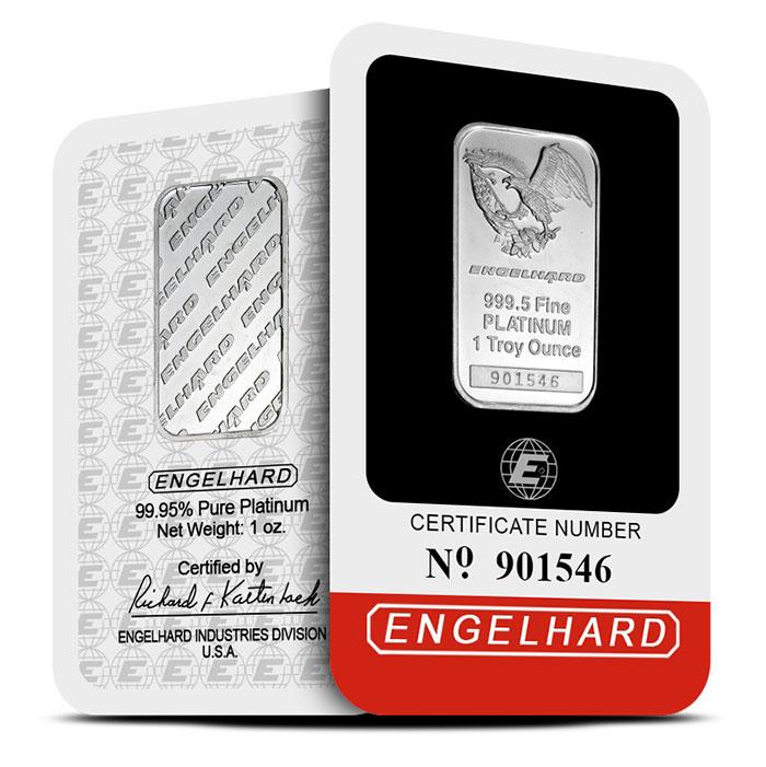 Engelhard Platinum Bar