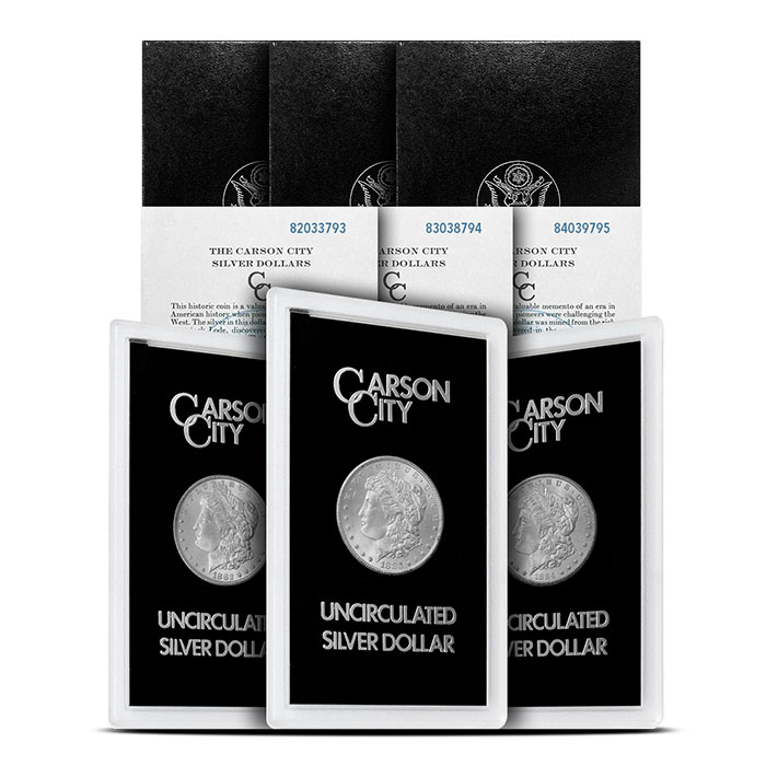 Essential GSA CC Morgan Silver Dollar Set