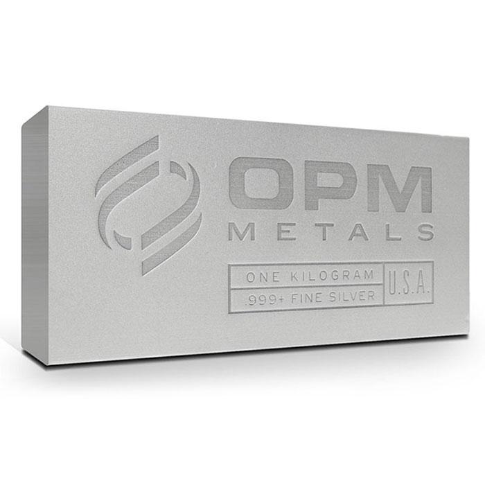 1 Kilo OPM .999 Fine Silver Bar