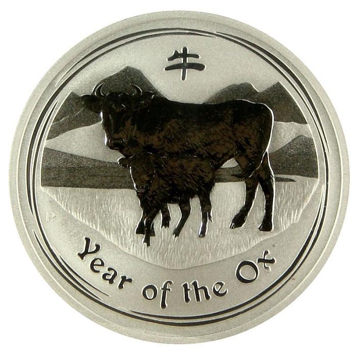 2009 Australia 1 oz Silver Year of the Ox | Lunar Series 2-0