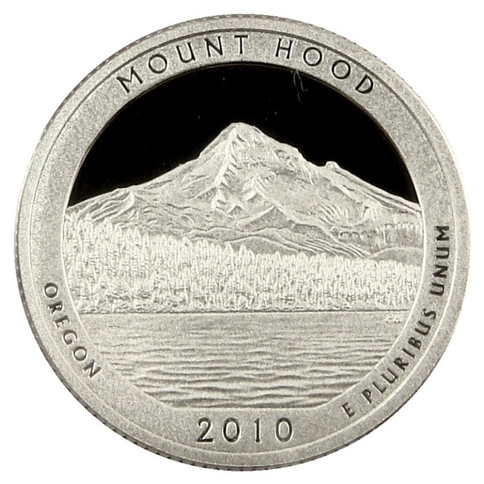 Mt. Hood National Park 2010 America the Beautiful Quarters Only Proof Set