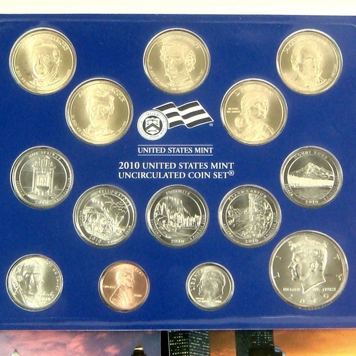 2010 US Mint Set Coins Philadelphia Mint