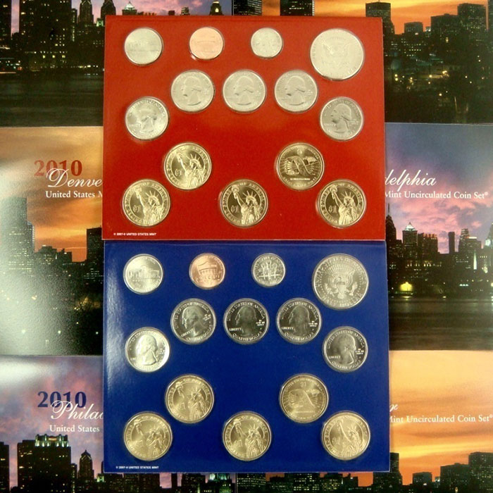 2010 US Mint Set Coins