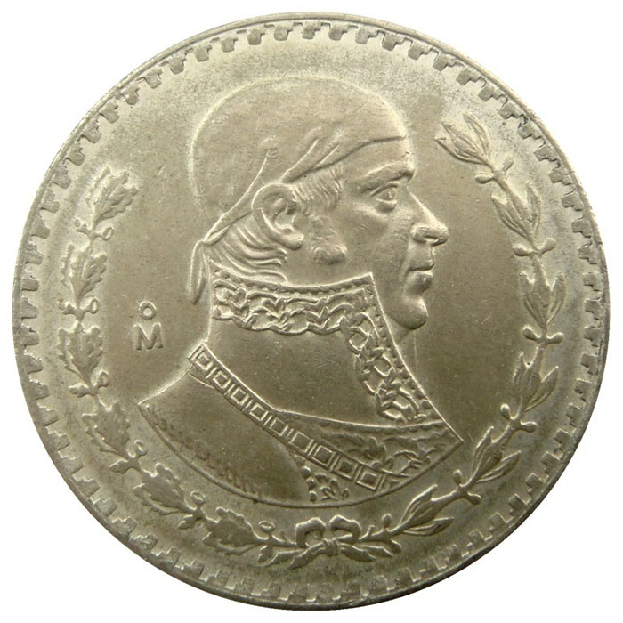 1957-1967 Mexico 1 Peso Silver Coin | Circulated or Better-0