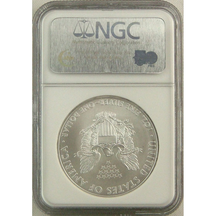 2008 Silver Eagle | Early Release | NGC MS69-4823