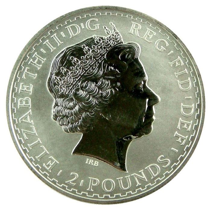 2004 1 oz Silver Britannia-4755