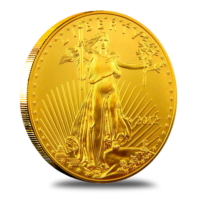 2012 1 oz American Gold Eagle Bullion Coin Obverse