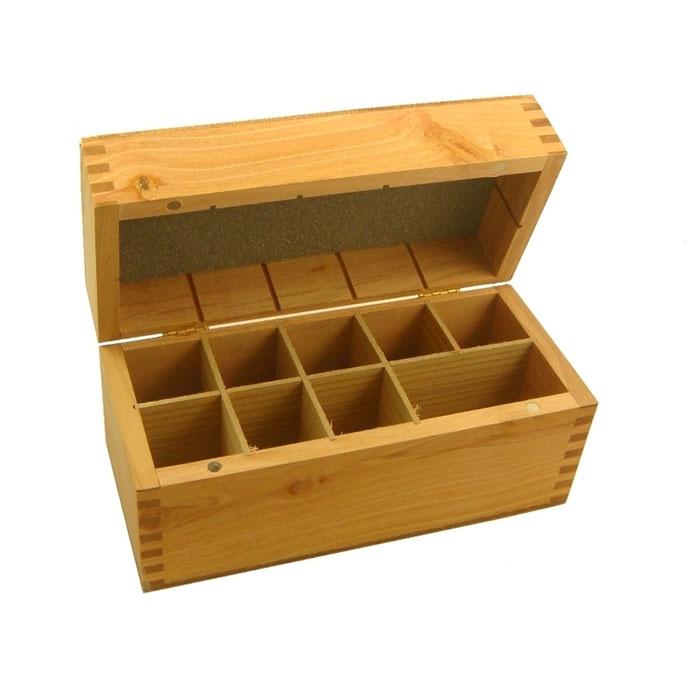 Precious Metals Testing Kit Wood Case