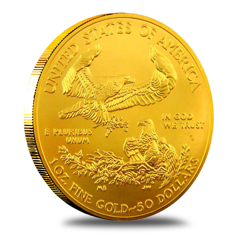 2012 1 oz American Gold Eagle Bullion Coin Reverse