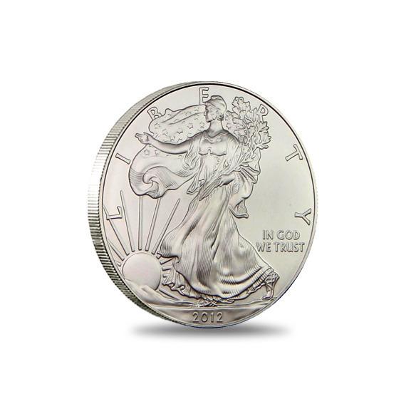 2012 San Francisco American Silver Eagle Monster Box Bullion Coin Obverse