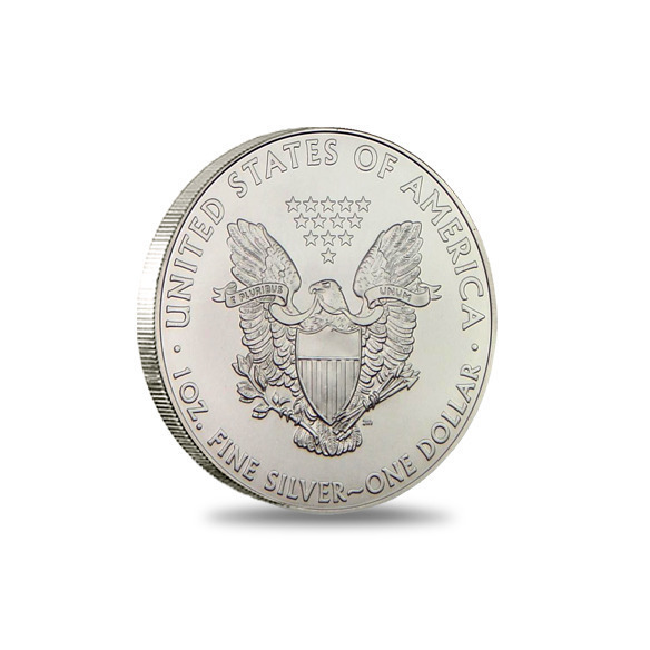 2012 American Silver Eagle Monster Box Coin Obverse