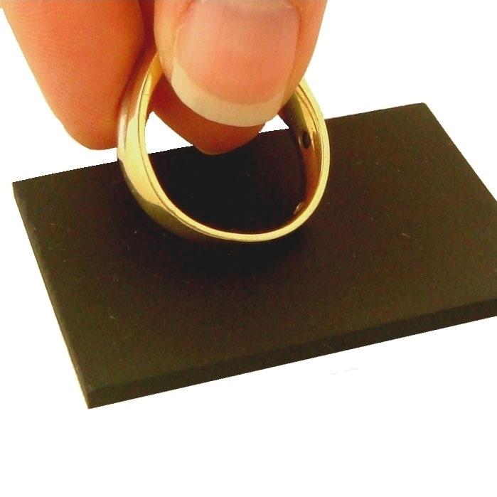 Precious Metals Testing Kit with Wood Case Rub Stone