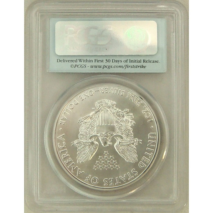 2011 Silver Eagle | PCGS MS70 First Strike | PERFECT!-5121