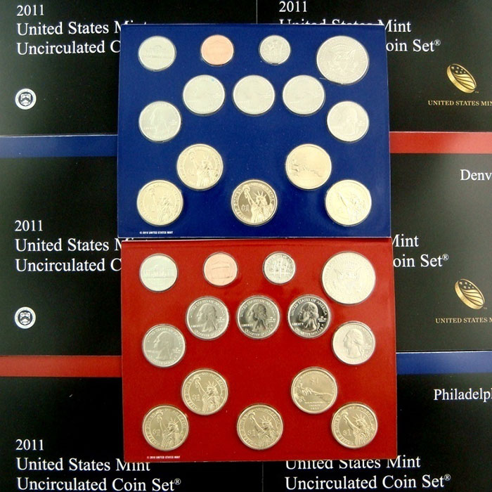 2011 US Coins Mint Set