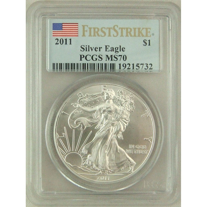 2011 Silver Eagle | PCGS MS70 First Strike | PERFECT!-0