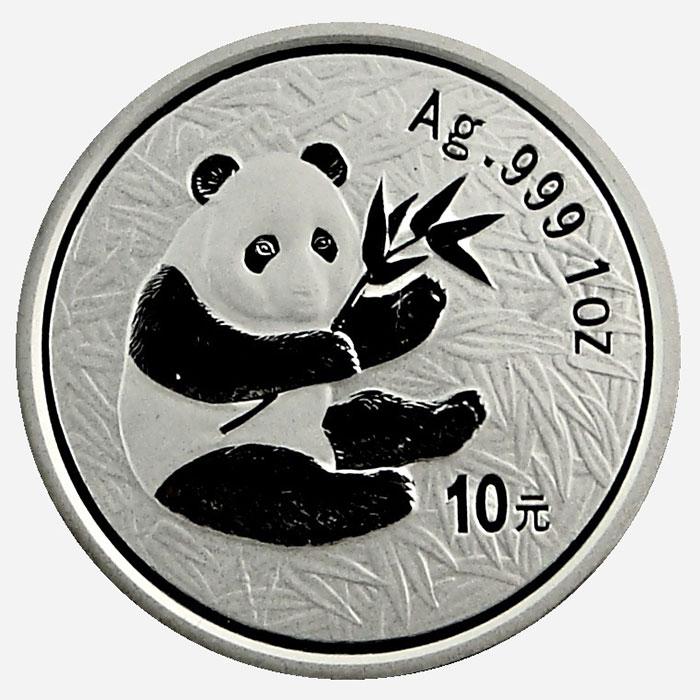 2000 1 oz Chinese Silver Panda