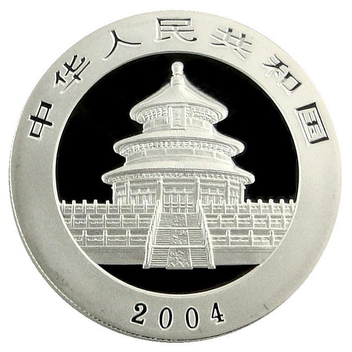 2004 1 oz Chinese Silver Panda-5438