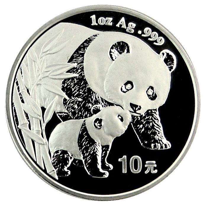 2004 1 oz Chinese Silver Panda-0