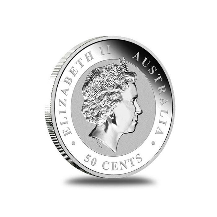Australian Perth Mint 2012 1/2 oz Silver Koala Bullion Coin Obverse