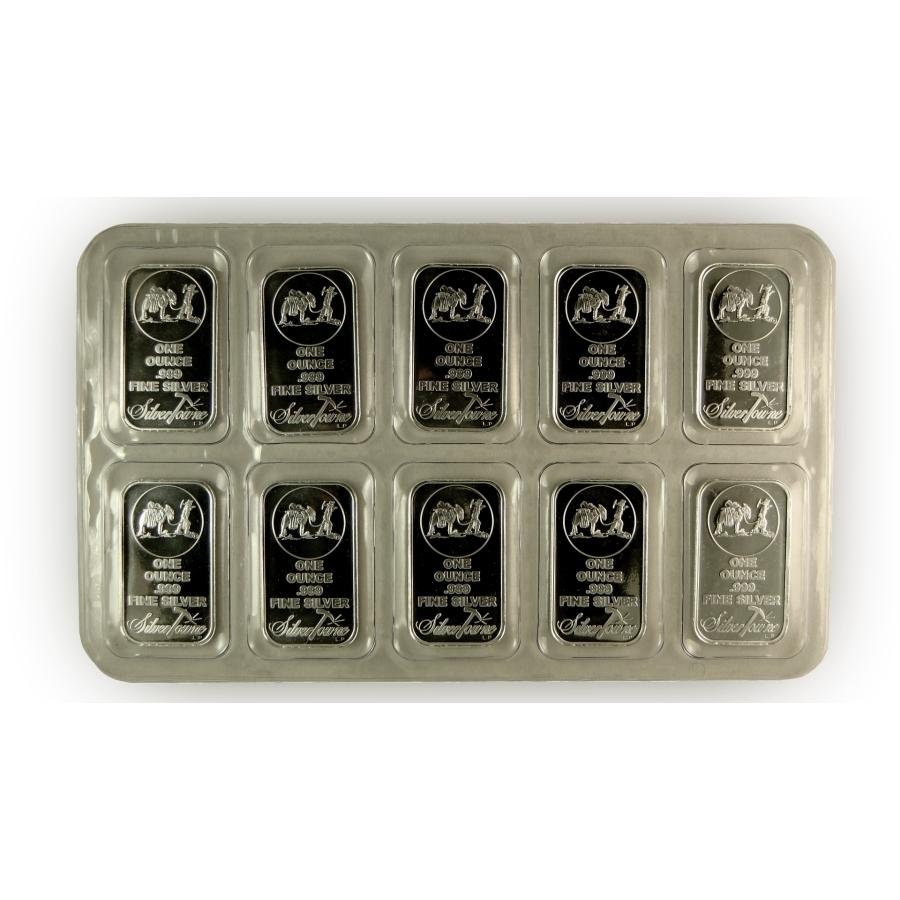 Silvertowne 1 oz .999 Fine Silver Bars