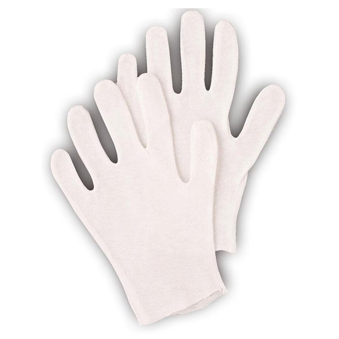 100% White Cotton Gloves Large Pair