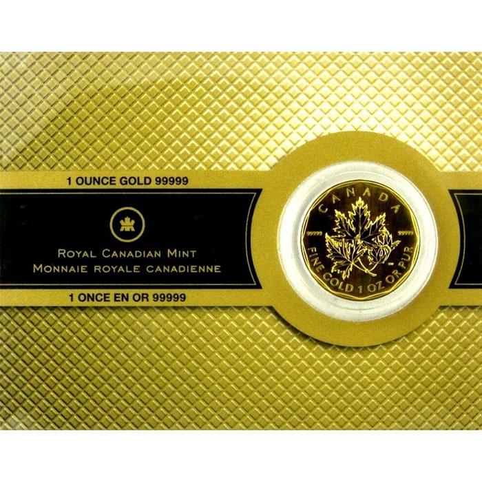 2007 1 oz .99999 Canadian Gold Maple Leaf -0