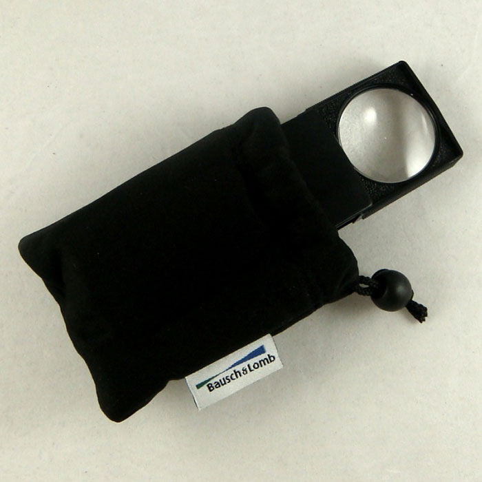 5X Bausch & Lomb Packetter Magnifier In Bag