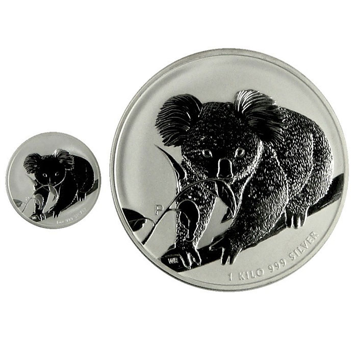2010 Australia 1 Kilo Silver Koala-3453