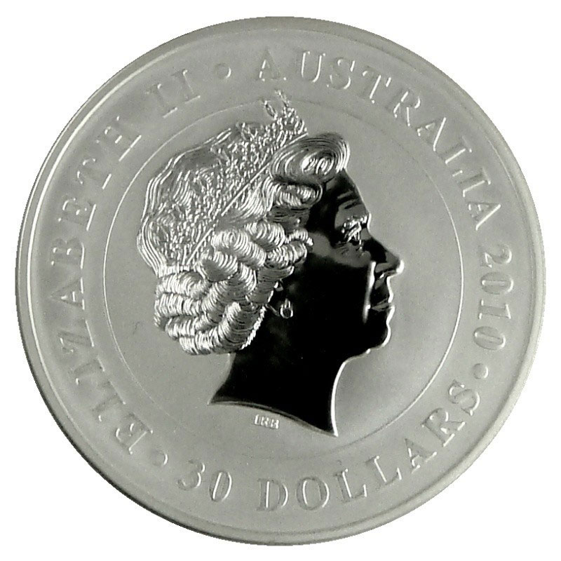 2010 Australia 1 Kilo Silver Koala-3457