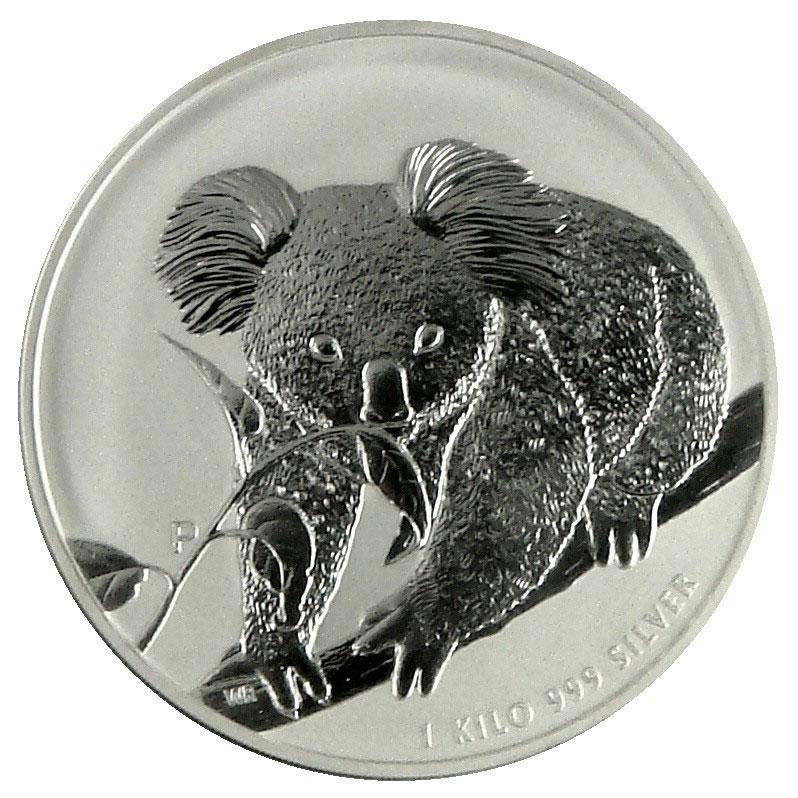 2010 Australia 1 Kilo Silver Koala-0