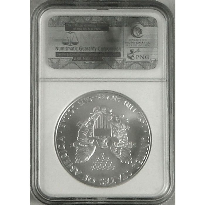 2010 Silver Eagle | NGC MS70 | FLAWLESS!-3765