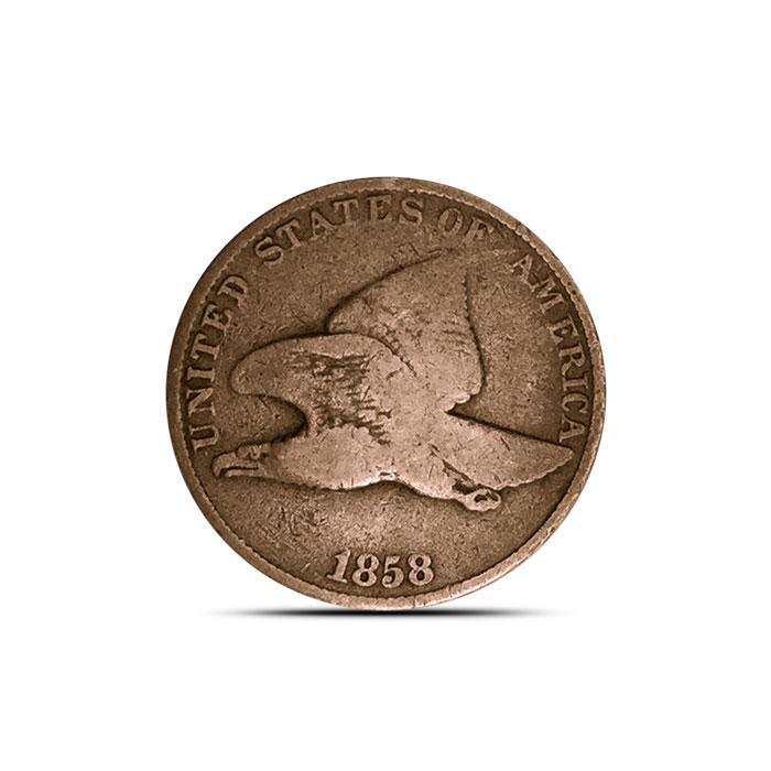 Flying Eagle Cent | 1857-1858
