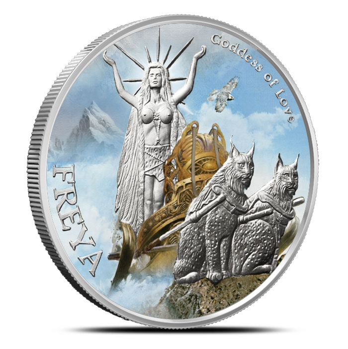 Freya Silver Round