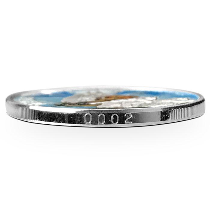 Freya Silver Round | Edge Number
