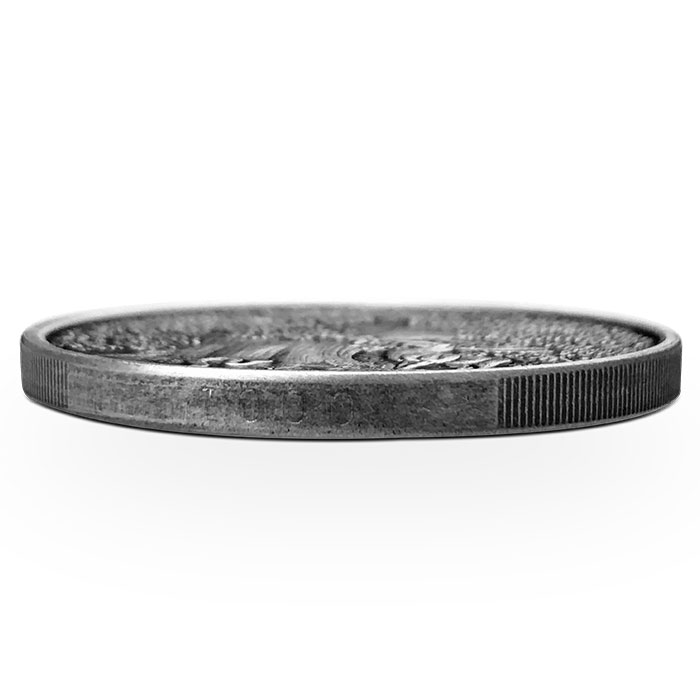 Garm 1 oz Antiqued Silver Round - Numbered Edge