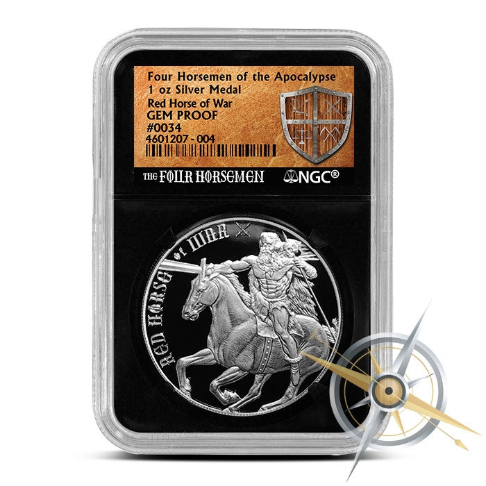 Red Horse of War NGC GEM Proof