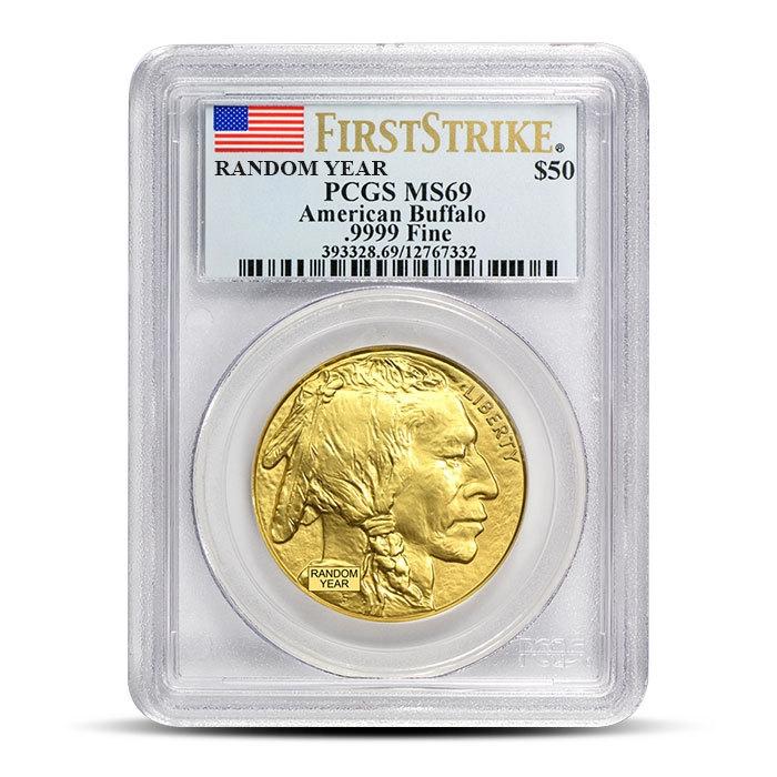 1 oz American Gold Buffalo PCGS MS69