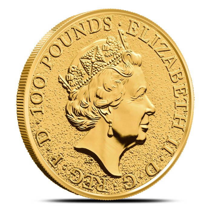 Gold Griffin Coin | Queen