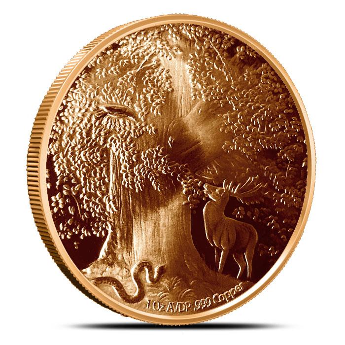 Great Eagle 1 oz Copper Round